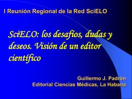 I Reunión Regional de la Red SciELO