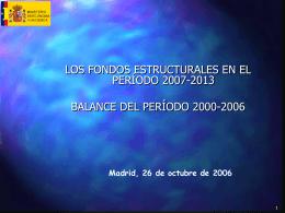 Reunión: España-Unión Europea. Marco Estratégico Nacional de