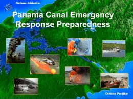 Panama Canal Emergency Response