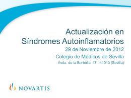 Reunión Regional Enfermedades Autoinflamatorias