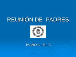 REUNIÓN INFORMATIVA - Colegio Cristo Rey de las Escuelas Pías