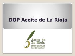 Reunión almazaras de la DOP Aceite de La Rioja 2013