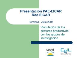 Reunión del PAE en Rosario