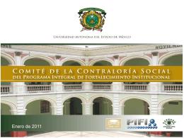 Reunión del Comité de Contraloría Social