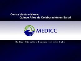 Quince Años de Colaboración en Salud MEDICC