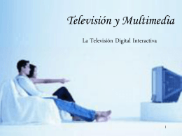 Televisión Digital Interactiva