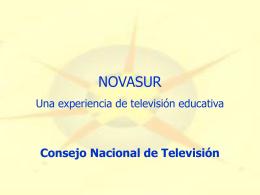 Soledad Suit, Consejo Nacional de Televisión