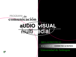 Comunicación Audiovisual y Multimedial