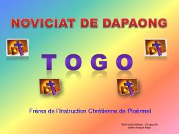 La prière - Frères de l`instruction Chrétienne et Laïcs Mennaisiens