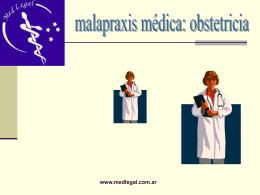 MalaPraxis en Obstetricia