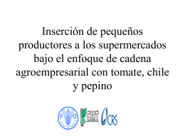Estudio FAO-CRS-CIAT El Salvador