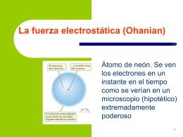 Presentación de Electrostática