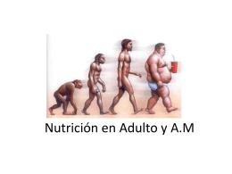 Clase 3. Nutricion en el Adulto y AM (865792)