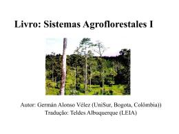 Sistemas Agrosilvipastoris