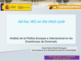 Análisis de la Política Europea e Internacional en las