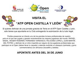Open Castilla y León 2011