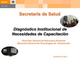 Diapositiva 1 - Dirección General Recursos Humanos