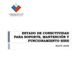 ESTADO DE CONECTIVIDAD ESTADO DE CONECTIVIDAD