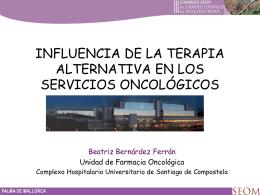 Diapositiva 1 - Sociedad Española de Oncología Médica