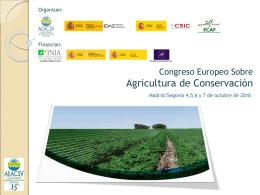 ¿Qué es la agricultura de conservación? Dossier