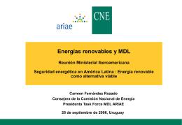 Derechos de emisión y mercados energéticos