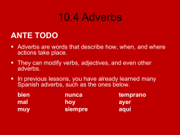 10.4 Adverbs - Loyola Blakefield