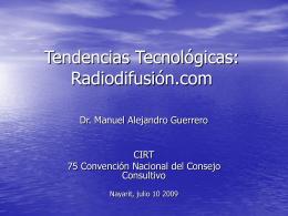 Tendencias Tecnológicas: Radiodifusión.com