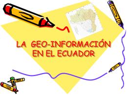 Ecuador - Sistema Nacional de Información