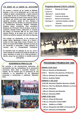 Boletín No. 2a