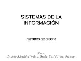 SISTEMAS DE LA INFORMACIÓN