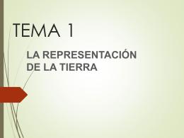 CLASE 2. larepresentacindelatierra