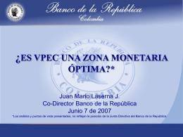 Presentación Uniones Monetarias