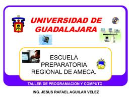 Bienvenida - Universidad de Guadalajara