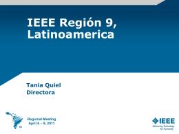 Tania Quiel- Regional Director