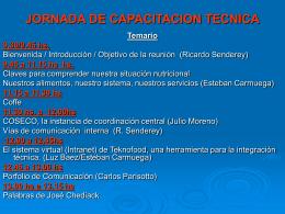 CIRCUITO DE COMUNICACIÓN INTERNA