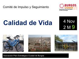 Presentación - Asociación plan estratégico ciudad de Burgos