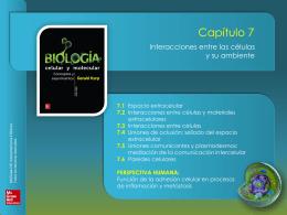 KARP_7a_c07_INTERACCIONES_CELULAS_AMBIENTE