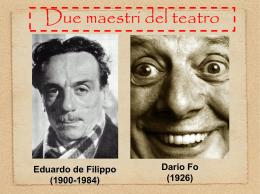 Due maestri del teatro