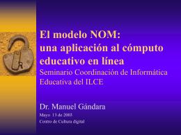 El modelo NOM - IHMC Public Cmaps