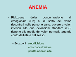 CORSO EMATOLOGIA LEZ.3