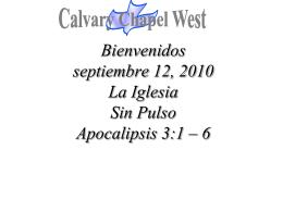Revelation 3: 1–6 (NASB)