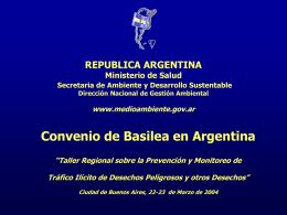 ARGENTINA Tráfico Ilícito 1º parte ALABARCEZ