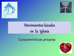 Movimiento laical - Familia Albertiana