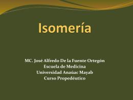 Isomería - Escuela de Medicina