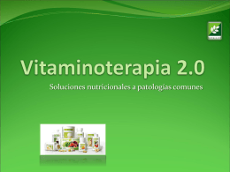 Vitaminoterapia