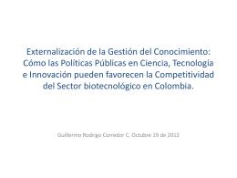 Externalización de la Gestión del Conocimiento: Cómo las Políticas