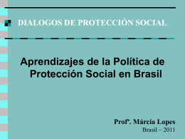 Política Social e Cidadania