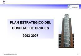 plan estratégico del hospital de cruces 2003-2007