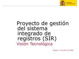 Proyecto SIR - Técnica v1.6 - Forja-CTT