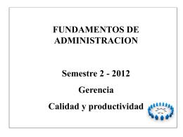 Generalidades en administracion de empresas.
